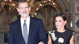 Los Reyes Felipe y Letizia en los Premios Francisco Cerecedo
