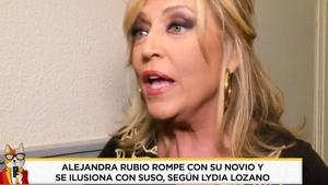 Lydia Lozano en 'Socialité' el sábado 01 de febrero de 2020