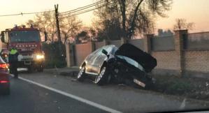 Imatge de l'accident a l'N-240