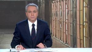 Vicente Vallés presentador de 'Antena 3 Noticias 2'