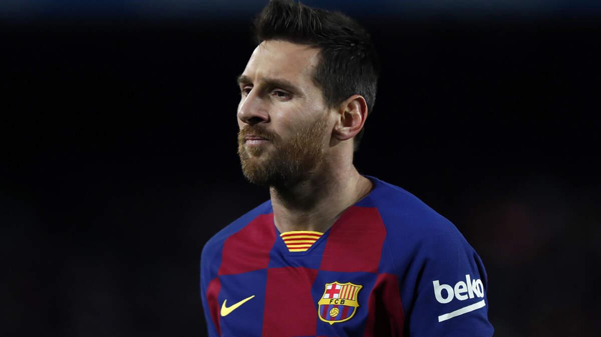 Leo Messi en un partit al Camp Nou contra el Granada