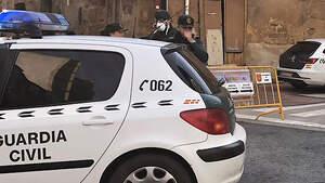 Desplegament de la Guàrdia Civil pel coronavirus a Haro (La Rioja)
