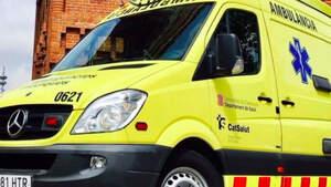 Ambulancia del servicio de emergencias de Cataluña