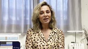 Ana María Aldón en la presentación de 'Supervivientes'