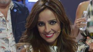 Carmen Alcayde en el plató de 'Gran Hermano'