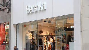 Exterior de una tienda Bershka en Madrid, 2012