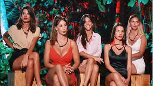 Susana, Fiama, Fani, Andrea y Andreína en 'La isla de las tentaciones'