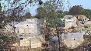 Imagen de archivo de un asentamiento en Huelva