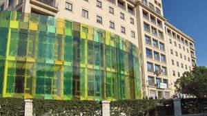 Hospital Carlos Haya de Málaga en marzo de 2020