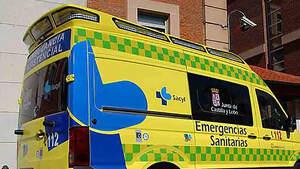 Ambulancia del Sacyl