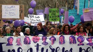 Manifestación del 8 de marzo en Gerona