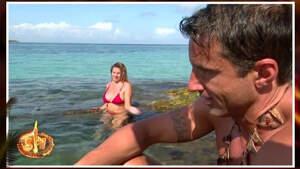 Hugo Sierra e Ivana en 'Supervivientes'