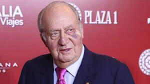 Juan Carlos I en la gala de presentación del cartel de la Feria de San Isidro 2019. Madrid, 22 de marzo de 2019