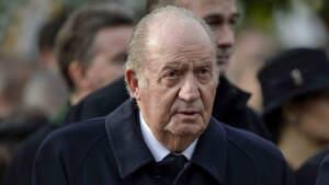 Juan Carlos I en el funeral del gran duque Jean de Luxemburgo