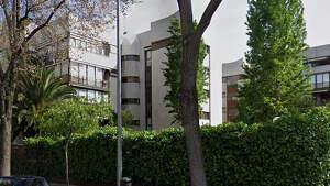 Imagen del edificio número 74 dela calle de Agastia en Ciudad Lineal