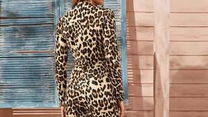 Modelo de leopardo de Shein