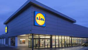 Fotografía del exterior de un supermercado de la cadena alemana 'Lidl'