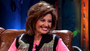 María Teresa Campos en el plató de 'La Resistencia' el lunes 20 de enero de 2020