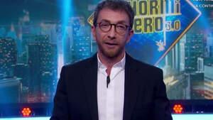 Pablo Motos durante 'El Hormiguero' con Santiago Abascal como invitado, octubre 2019