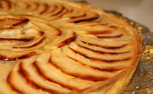 Imatge d'un pastís de poma
