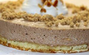 Imatge d'un pastís de torró
