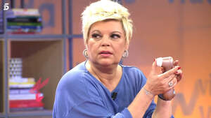 Terelu Campos en el plató de 'Viva la vida'. Sábado, 7 de marzo de 2020