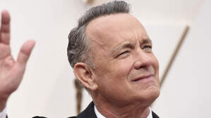 El actor Tom Hanks en los Academy Awards de Hollywood. 9 de febrero de 2020