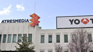 Imagen de archivo de la fachada de Antena 3