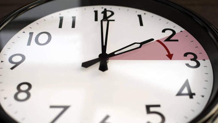 Imagen ilustrativa del cambio de hora de verano