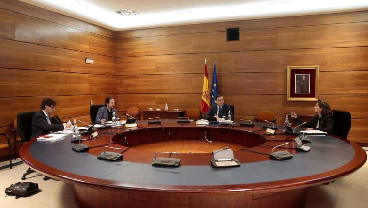 Consell de Ministres d'aquest 28 d'abril