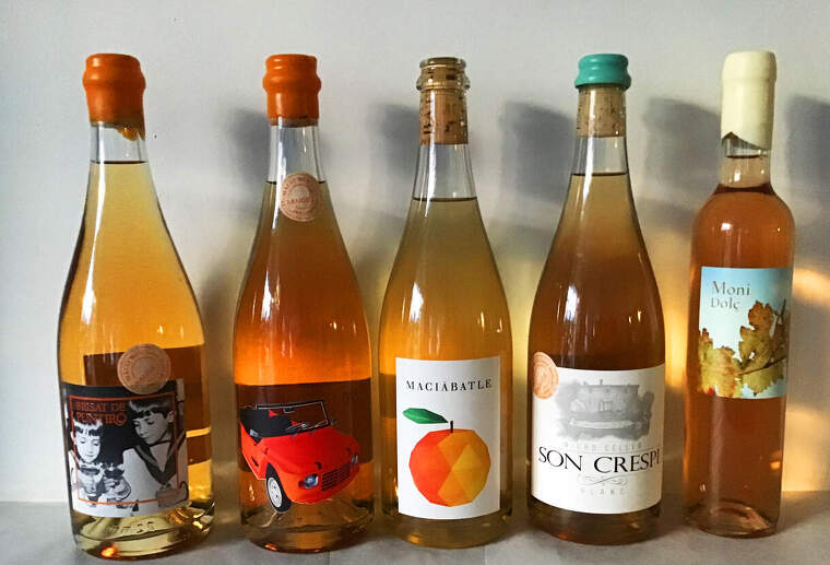 Els orange wine de Santa Maria