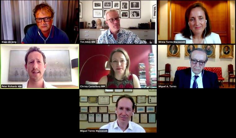 Els responsables del documental de Torres en la presentació virtual d'aquest dijous