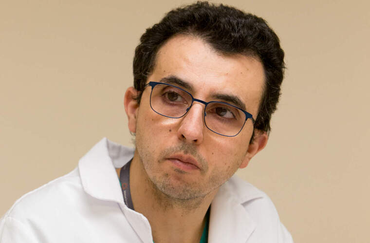 Josep Trenado, cap del servei de Medicina Intensiva i la UCI de Mútua Terrassa
