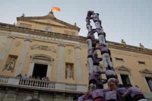 Les imatges de la diada castellera de Sant Joan a Tarragona