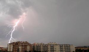 La tempesta d'aquest divendres al Camp de Tarragona