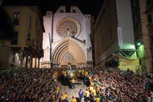 Les imatges de la Baixada de l'Àliga a Tarragona
