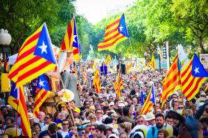 Les millors imatges de la Diada a Tarragona