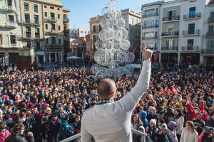 Més de 1.400 infants canten la Gran Nadala a Reus