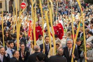 Benedicció de palmes i rams a Tarragona
