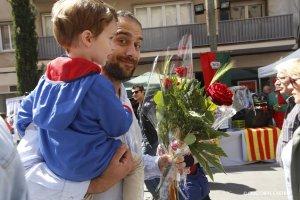 Matí de Sant Jordi a Terrassa