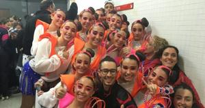 Els patinadors del Reus Deportiu, eufòrics després de la victòria al Campionat d'Espanya juvenil
