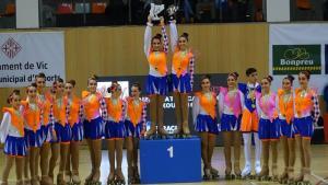 El Grup Xou juvenil va quedar segon d'Europa després de proclamar-se campió català i estatal.