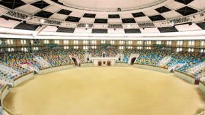 La Tarraco Arena Plaça serà escenari a finals d'octubre d'un assaig general de la gimnàstica rítima de Tarragona 2017