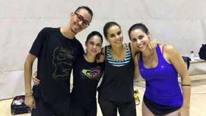 El Quartet del Reus Deportiu, abans de viatjar a Itàlia