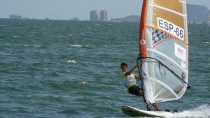 Èxit del Club Nàutic Salou al Campionat d'Espanya de windsurf.
