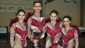 L'equip de Quartet del Reus Deportiu, disposat a assolir un nou èxit al Mundial de Novara
