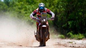 La pols ha estat una acompanyant constant en la segona etapa del Dakar 2017