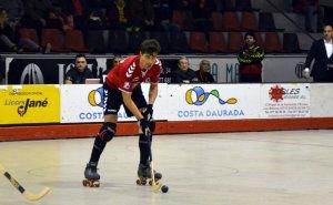 Roger Rocasalbas, jugador del Moritz Vendrell.