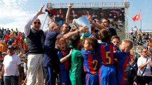El Barça ha estat un dels campions del Mundialito.