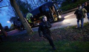 L'autobús del Borussia, víctima de tres explosions